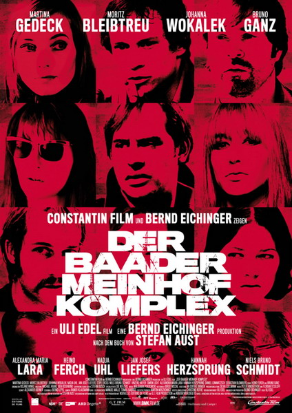 Plakát filmu Der Baader Meinhof Komplex