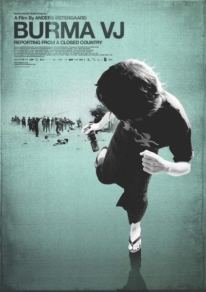 plakát filmu Burma VJ